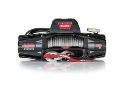 Warn 103255 Vr Evo 12 Volt Dc Powered 12000lb Winch With 90ft. Steel Cable
