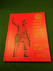 Rare Vtg 1962-ish Yearbook Us Army Training Center Air Defense Ft. Bliss Tx.