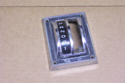1967 1968 And Other Ford Mustang Automatic Shifter Bezel Without Console