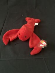Extremely Rare Ty Beanie Baby Pinchers Perfect Condition 1993
