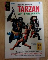 Tarzan Of The Apes Gold Key 172 Nice Fn Minus 1967 Wilson Painted Cover
