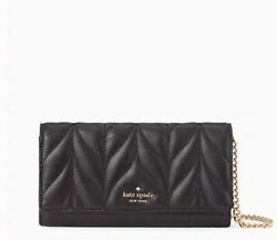 🌸Kate spade briar lane quilted wallet Milou Chain Clutch black neda Bag $68.40