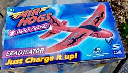 Vintage Air Hogs Plane Spin Master Eradicator Quick Charge New Unpened Box