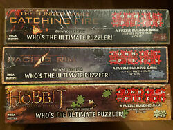 Lot Of 3 - Lord Of The Rings, Hunger Games, Connect With Pieces Puzzle Game New