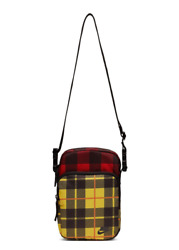Nike Heritage Yellow Red Plaid Crossbody Bag BA5899 010 shoulder ba $19.99