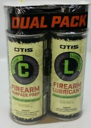 Otis Biodegradable Firearm Surface Prep And Lubricant Combo Pack Sealed 10 Oz Cans