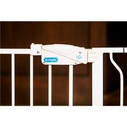 Regalo Metal Frame Widespan Extra Tall Baby Gate, White Open Box 4 Pack