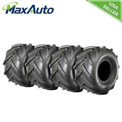 4 New Maxauto 20x10-8 4pr P328 Lawn And Garden Mower Tractor Turf Tires 4ply