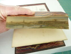 [fore-edge Painting] Half-hour Lectures .....etc. By William B. Scott 1861
