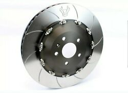 Forza 2 Piece Full Floating Front Brake Rotors For Audi Rs3 8v