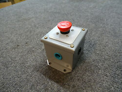 Square D Control Station Kyaf-1 Emergency Stop Button