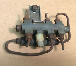 1968 And Other Ford Fairlane 500 Power Disc Brake Fluid Distribution Block Assmby