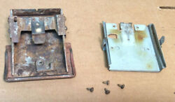 1968 And Other Ford Fairlane 500 Front Dash Ash Tray, Screws And Bracket Oem