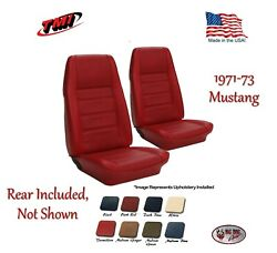 Front And Rear Seat Upholstery 1972 - 1973 Mustang Coupe By Tmi In Any Color