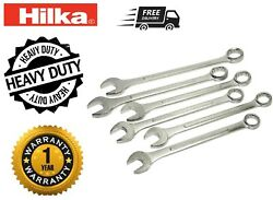 Jumbo Spanner 6pce Combination Wrench Spanner Set Metric 33,36,38,41,46 And 50mm