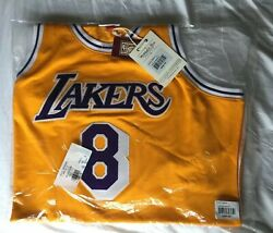 Kobe Bryant La Lakers Mitchell And Ness Authentic 1996-97 Rookie Jersey - 48 Xl