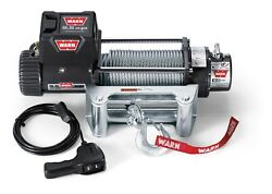 Warn 68500 9.5xp Series 12 Volt Electric Winch W/ 9,500 Lb Capacity 100 Ft Rope