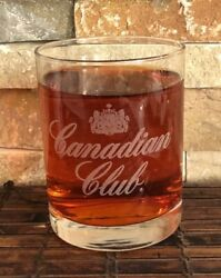 Canadian Club Collectible Whiskey Glass 8 Oz