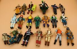 Vintage 1980's G.i. Joe Toys- 18 Figures , Vehicles, Parts, Guns And Accessories