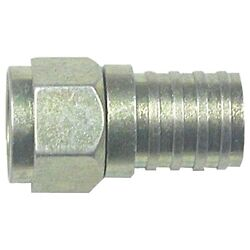 Eagle Aspen 500285 Rg6 Zinc-plated Connectors With O-ring And Gel, 100 Pk Easfc6wp