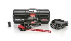 Warn 101240 Axon 45rc Power Sport Winch With 4500 Lb Capacity W/ 27and039 Ft Rope