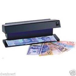 Uv Electronic Counterfeit Money Detector Check Stamps Checks Documents Bills
