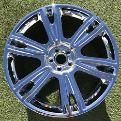 Bentley Continental Rim Wheel 21 97666 Oem Factory Chrome Stock New Flying Spur