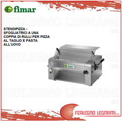 Dough Sheeters - Pizza Roller To A Pair Of Rollers - Fimar With Engine 3ph Si420