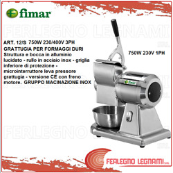 Grater X Cheese Hard 12/s With Brake Engine 750w 230/400v 3ph- 1ph Fimar