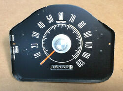 1968 And Other Ford Fairlane 500 Black Instrument Speedometer Gauge Tested C8of-