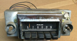 1968 And Other Ford Fairlane 500 Factory A/m Radio C8tpo Non-working