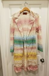 Missoni Open Front Cardigan Size 40