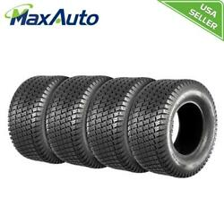 4 New Maxauto 20x8-10 4pr P332 For Lawn And Garden Mower Tractor Turf Tires 4ply