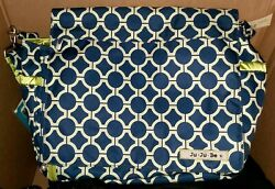 JuJuBe Better Be Messenger Diaper Bag Classic Collection Royal Envy $34.95