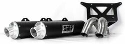 Hmf Racing Performance Series Dual Slip-on Exhaust 2016-2020 Ranger Rzr Turbo Xp
