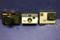 Lot Of 60's-70's Kodak Vintage Photography Cameras And Accessories Sale