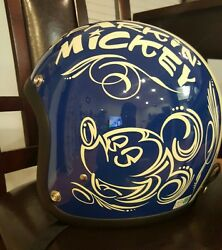 Buco Toys Mccoy Mickey Helmets Size S 54/55 From Japan Used