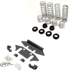Rt Pro 2 Lift Kit And Standard Rate Springs For Rzr Xp 900 Walker Evans Edition