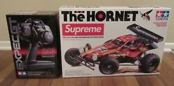 Supreme Tamiya Hornet Rc Car Fw18 Flames 1/10th Scale High Performance Racer New