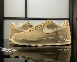 Nike Air Force 1 Low Lebron James Player Exclusive Ds Size 11 Tan Suede