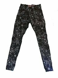 Nike Womenand039s Floral Just Do It Leggings Blue/white Sz Xs 823703-410