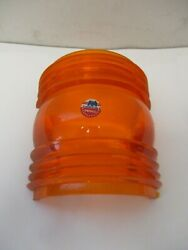 Perko Fresnel Replacement Lens Class 3, Fig 260 Amber For Bow Lights 180 Degree