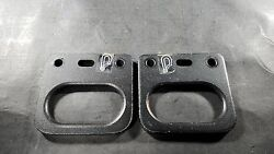 Quicky Zippie Rear Transit Tie Downs Set Taxi Clamps