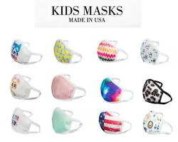 KIDS Face Mask Cover : 3D Designed KIDS Washable-Reusable Fashion Knitted
