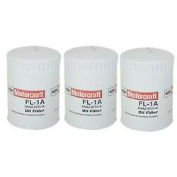 Set-mifl1a Motorcraft Set Of 3 Oil Filters New For Town And Country 240 260 280