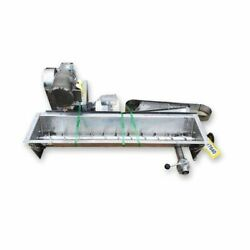 Used 4andquot Dia. X 4andapos Long Stainless Steel Volumetric Mixer Screw Feeder
