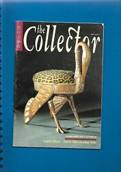 'the Collector' Magazine June/july 1993 Mainly Antiques Trade Magazine 42 Pages