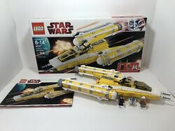 Lego 8037 Star Wars Anakins Y-wing Starfighter 100 Complete Box And Instructions