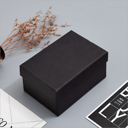 New Black Kraft Paper Box Candy Jewelry Packaging Boxes Parties Wedding Wrapping