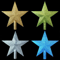 Star Christmas Tree Topper / Gold / Silver / Green / Blue / Table-top Tree Size